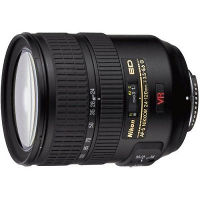 Near Mint! Nikon AF-S FX NIKKOR 24-120mm f/3.5-5.6G IF-ED VR - 1 year warranty