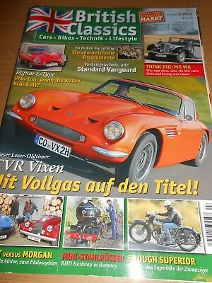 TVR Vixen, MGB GT V8, Morgan Plus 8, Brough Superior SS 100