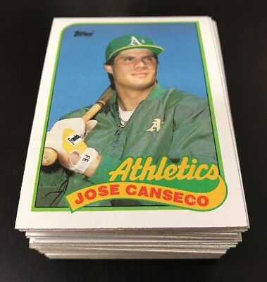 1989 Topps Baseball Pick Your Card Complete Your Set 99 Card S