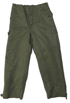 East German Rain Camo Pants - Used Genuine Surplus - Various Sizes