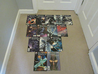 SILVER SURFER-MARVEL COMICS x 14-VOL 4- COMPLETE SET, No's 1-14-Job Lot-2003