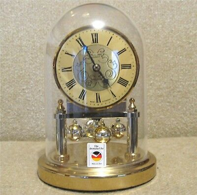 """Vintage WEST GERMANY """"QUARTZ MUSICAL ANNIVERSARY CLOCK"""" AVE MARIA On The HOUR"""