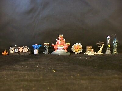 25mm painted dungeon terrain pieces (10)