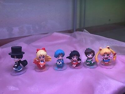 Megahouse Sailor Moon Petit Chara: Sailor Moon Mini Figures Candy Version