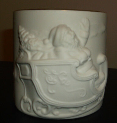 Lenox Radiant Light Santa Votive New in Box