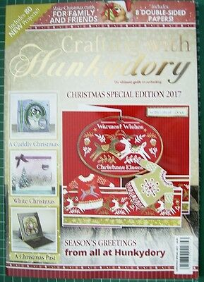 CRAFTING WITH HUNKYDORY - CHRISTMAS SPECIAL EDITION 2017 - New Release - NEW