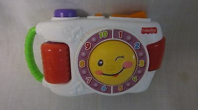 Fisher Price Laugh & Learn Learning Camera Teaches Numbers + More