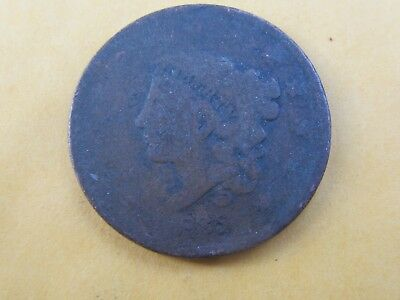 1825 Coronet Head large cent dated cull.