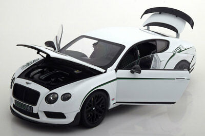 ALMOST REAL 2015 Bentley Continental GT3-R White/Green 1/18 Scale LE of 1999 New