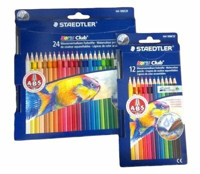 Staedtler Noris Club Watercolour Pencils. Choose your Set
