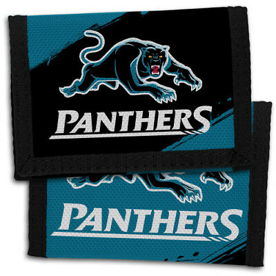 NRL Penrith Panthers Nylon Sports Wallet