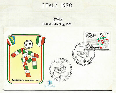 World Cup Soccer 1990 Italy various countries stamps, large Lot A