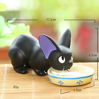 Studio Ghibli Kiki's Delivery Service Jiji Black Cat Resin 10.5CM Figure