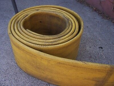 "Used Fire Hose RUBBER Boat Dock Bumper 7' Long 6"" Wide Angus"