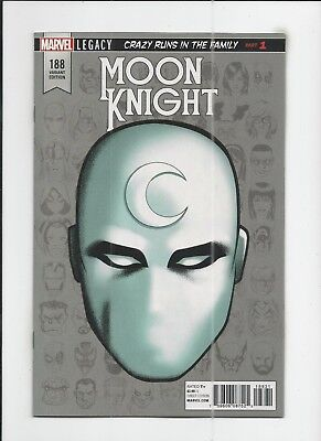 Moon Knight #188 Mike McKone 1:10 Headshot Variant Cover (VF+) condition