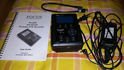 Focus Pro HD DR-HD100 Portable DTE Video Recorder with Internal 80GB Hard Drive