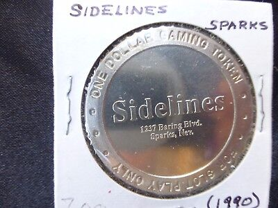Sidelines Sparks Nevada $1 Route Token