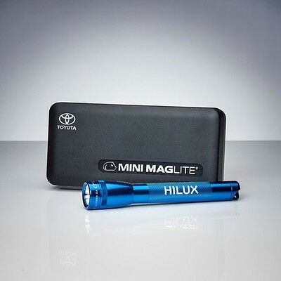 HiLux Mini Maglite (Blue) - Official Merchandise Torch