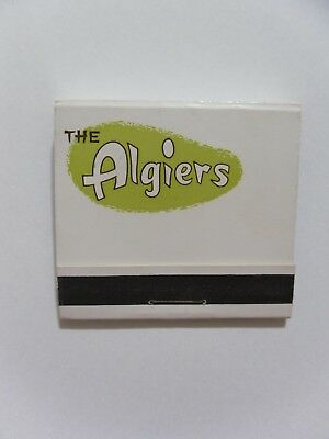 Las Vegas The Algiers Casino Hotel matchbook matchcover
