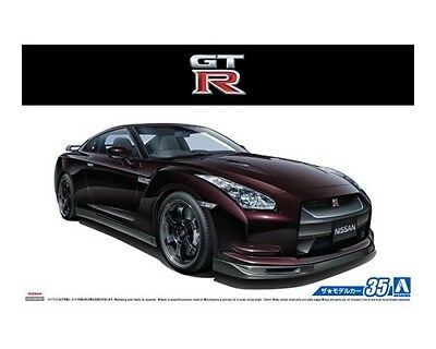 [FROM JAPAN]The Model Car 35 1/24 Nissan R35 GT-R Spec-V '09 Plastic Model A...