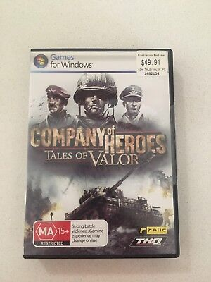 Company of Heroes-Tales of Valor-PC Game With Manual And Install Code