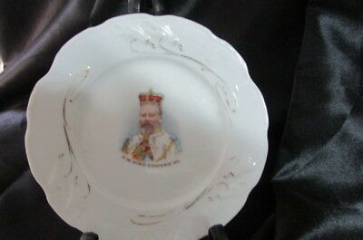 King Edward Vii Coronation Souvenir Plate