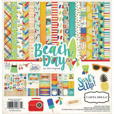 "Carta Bella Collection Kit 12""X12"" Beach Day 083832203719"
