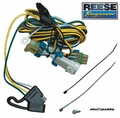 AZTEK RENDEZVOUS TRAILER WIRING wire HARNESS 4 WAY hitch reese 4 way flat to 7 way adapter trailer wiring harness towing 2005 Buick Rendezvous Problems at arjmand.co