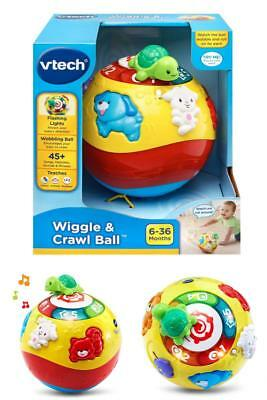 Wiggle Crawl Ball Move Baby Toys Educational Safe Developmental Battery Operated