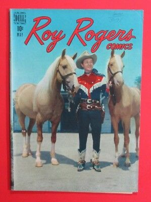 Roy Rogers Western Comic #5 Dell 1948
