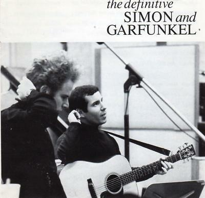 SIMON AND GARFUNKEL The Definitive CD - Greatest Hits - Best Of