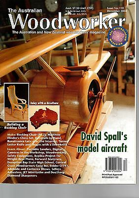 The Australian Woodworker Issue 118  December 2004
