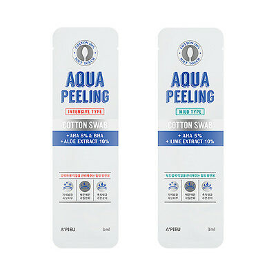 [A'PIEU] Aqua Peeling Cotton Swab - 3ml