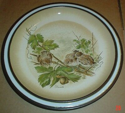 Decorative Denby Bird Plate #1