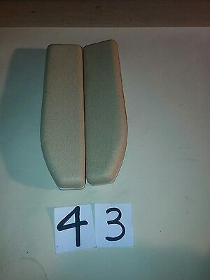 Bison 50 starlift armrests in cream/beige ready to fit