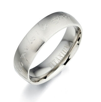 Free Personalized Engrave Silver Couple Wedding Promise Comfort Fit Ring 187-091