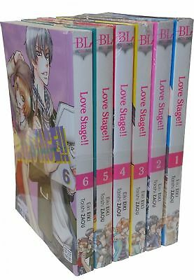 Love Stage Volume 1-6 Eiki Eiki Collection 6 Books Pack Set Children Manga Books