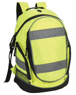 1x Hi-Vis Yellow Rucksack/Work Bag Ideal for Emergency Services Use
