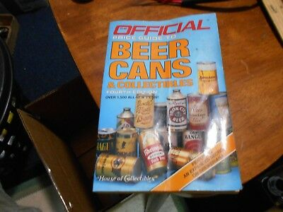 Book: Official Price Guide To Beer Cans & Collectibles, 4Th Edition, 1986