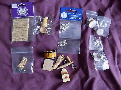 Bargain Collection of Kitchenware (cutlery, bowls etc.)  for 1/12th scale.