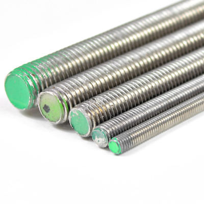 Stainless Steel Threaded Bar 1000 mm | A2 All Fully Thread Studding Rod Fastener