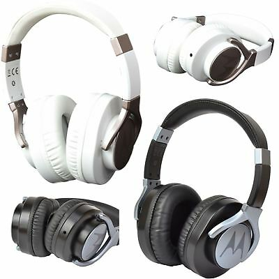 Motorola Pulse Max Over Ear Wired Headphones with Mic, Rotating Earcups