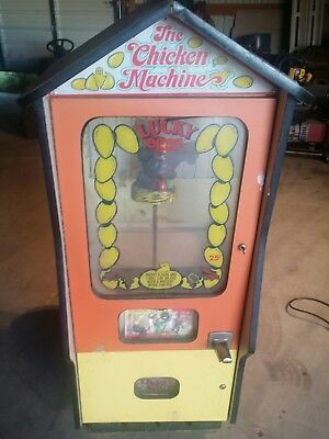 The Chicken Machine Lucky Egg, Complete with Key