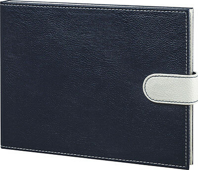 """Did-It 7"""" LCD Video Memory Book in Faux Pebbled Leather Cover Navy"""