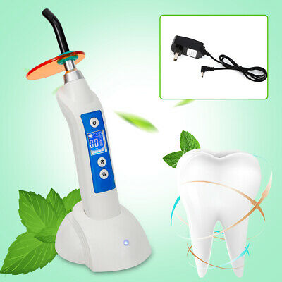 5W 1500mw Dental Wireless Cordless LED.B Curing-Light LED Lamp with Charging USA
