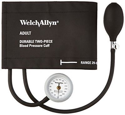 Welch Allyn DS44-11CB Gauge with Durable Two Piece Cuff and Bladder, Adult,