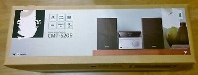 Sony CMT-S20B All in One DAB, USB, AUX, CD Micro Hi Fi System