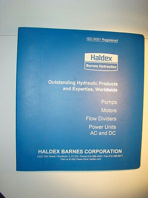 Haldex Hydraulic Pump Motor Service Manual