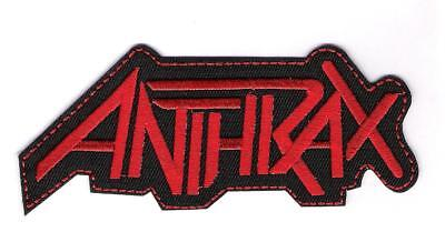 patch embroidered / écusson thermocollant Anthrax