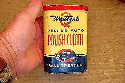 Vintage Western's Deluxe Auto Polish Cloth ,western Auto Ford'chevy'dodge'buick'
